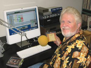 Jerry Bryant, recording his show in 2007