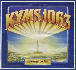 KYMS logo